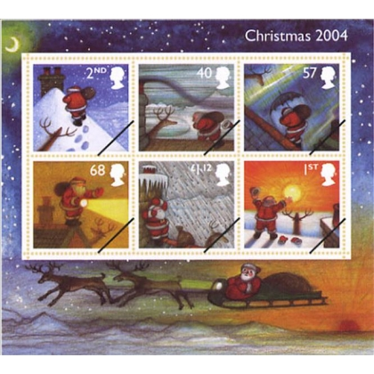 2501MS Christmas 2004 Raymond Briggs' Father Christmas