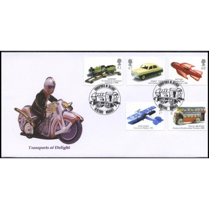 2397 Classic Transport Toys Norvic FDC