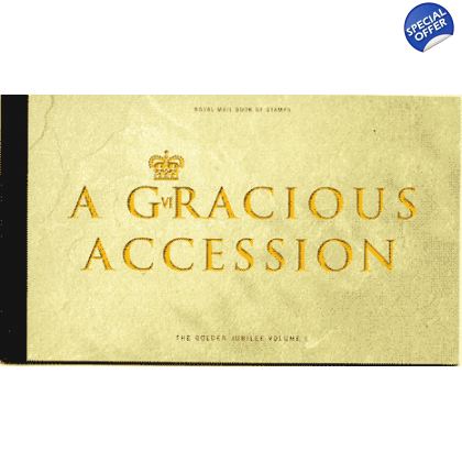 DX28 A Gracious Accession 2002 Prestige Stamp Book