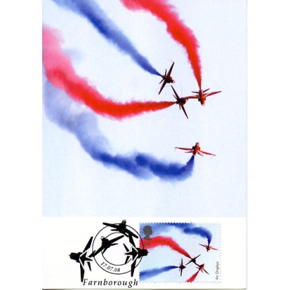 2855a Red Arrows Maximum Card 2008