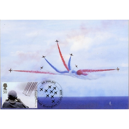 2857 RAF Red Arrows Maximum Card 2008