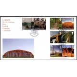 2532 World Heritage Sites Norvic FDC