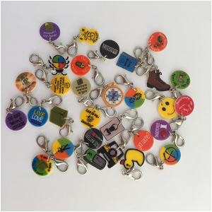 Geocaching Bracelet Charms