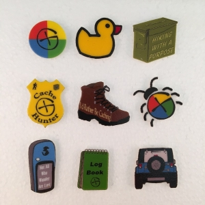 Geocaching Pins