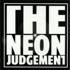 "THE NEON JUDGEMENT ""TV Treated"" Square Vinyl"