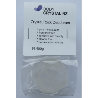 Body Crystal Rocks Fragrance Free - 95/100g