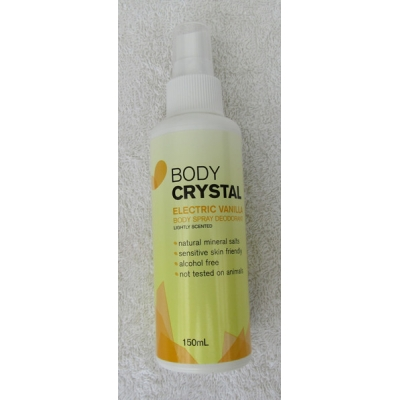 Body Crystal Mist Electric Vanilla - 150ml [ Unisex ]