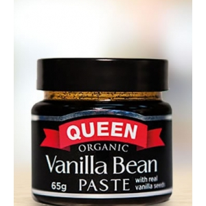 Queen 65g Organic Vanilla Be..