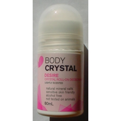 Body Crystal Roll-on Desire - 80ml