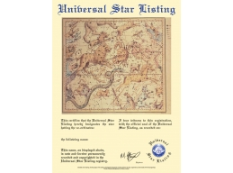 Name a Star Certificate - PDF via Email