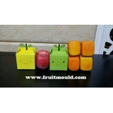 square shaped apple mold