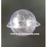Football shape plastic mold for gourd ..