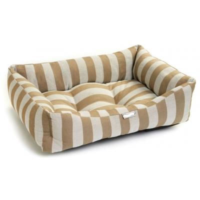 Gold Stripe Bed