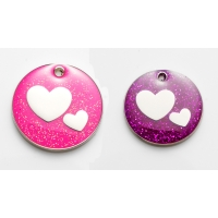 Purple Hearts Tag