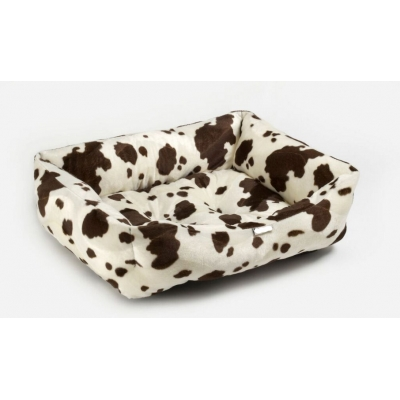 Brown Cow Bed