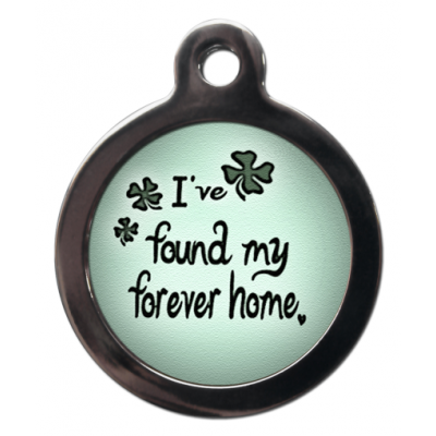 Found My Forever Home Tag