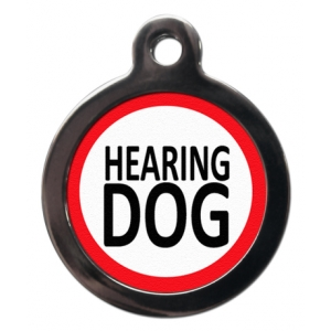 Hearing Dog Tag