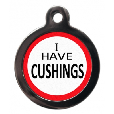 Cushings Dog Tag