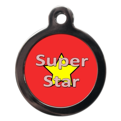 Superstar Dog Tag