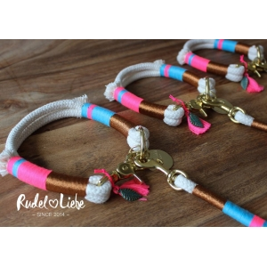 Little Rio Blue Rope Collar