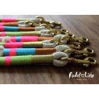 Little Rio Pink Rope Lead
