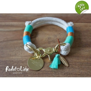 Blue Rio Rope Collar