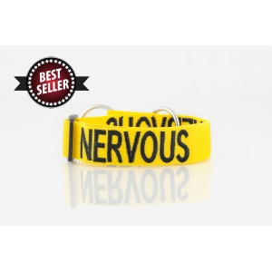 Nervous Dog Collar