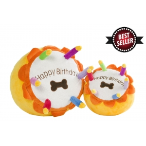 Happy Birthday Dog Cake Toy