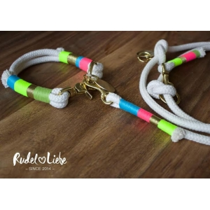 Rainbow Lovers Rope Collar