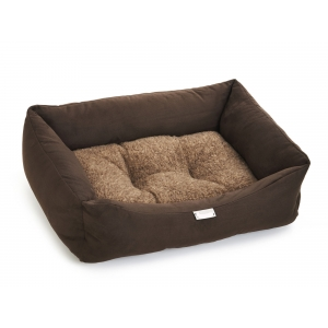 Chocolate Sherpa Bed