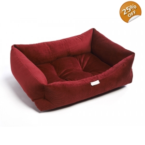 Ruby Red Cord Bed