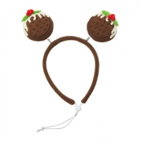 Christmas Pudding Head Band