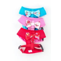 Red Vintage Bow Harness