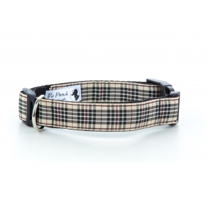 Burberry Plaid Collar