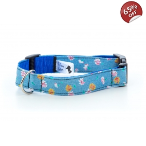 Daisy Denim Collar..