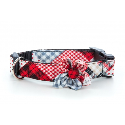 Patchwork Flower Collar