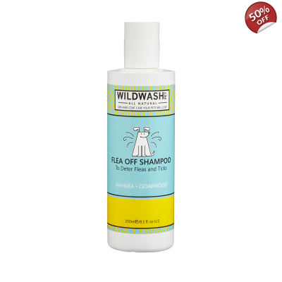 Wildwash Flea Off Shampoo