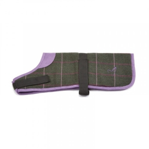 Purple & Green Tweed Ja..