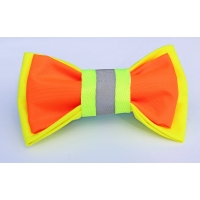 Hi-Viz Safety double layered Bow Tie
