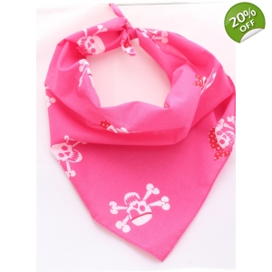 Pink Pirate Bandana