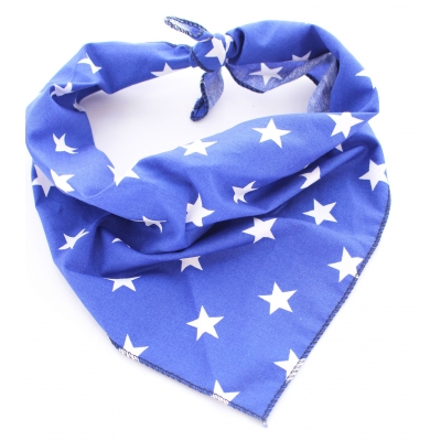 Blue Star Bandana