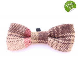 Hunter Tweed Tartan Wool Bow Tie