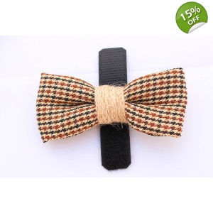 Country Tweed Bow ..
