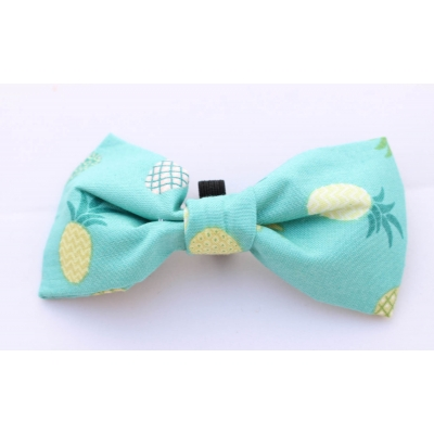 Green Pineapple Bow Tie title=