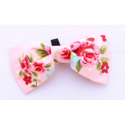 Pink Vintage Bow Tie title=