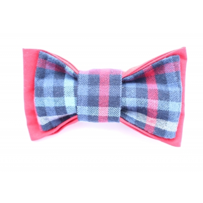 Rags Rustic Double Layered Bow Tie