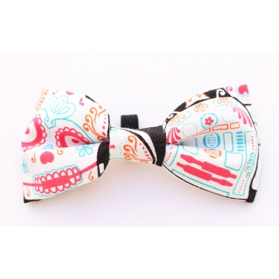 Starwars Sugar Skulls Bow Tie title=