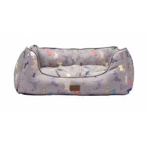 Joules Grey Par-Tea Bed