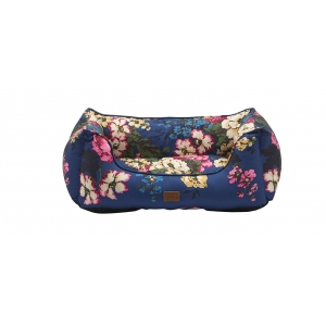 Joules Navy Cambridgeshire Floral Bed