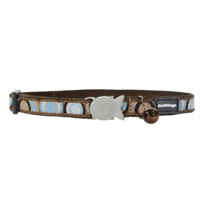 Red Dingo Circadelic Cat Collar